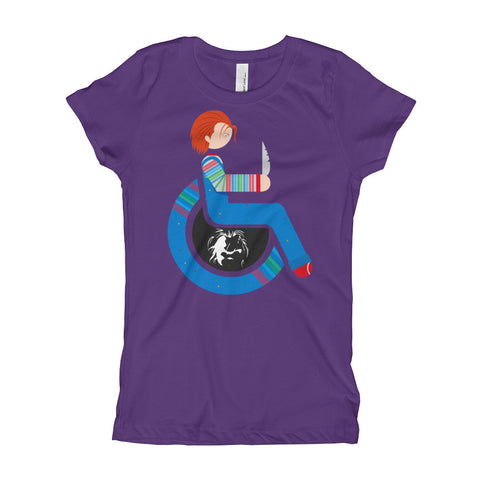 Girl's Youth Adaptive Chucky T-Shirt (XS-XL)