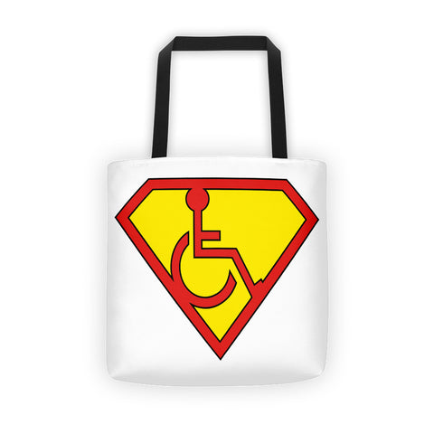 Adaptive S-Man Logo All Over Tote Bag