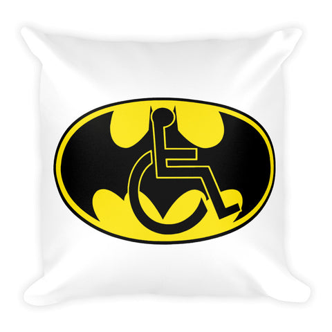 "Adaptive Batman Symbol Pillow - 18""x18"""