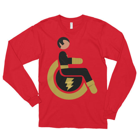 Adaptive Black Adam Long Sleeve
