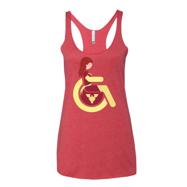Women's Adaptive Dark Phoenix Tank Top (XS-L)