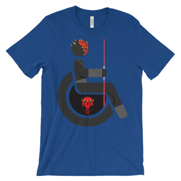 Adaptive Darth Maul Short Sleeve T-Shirt
