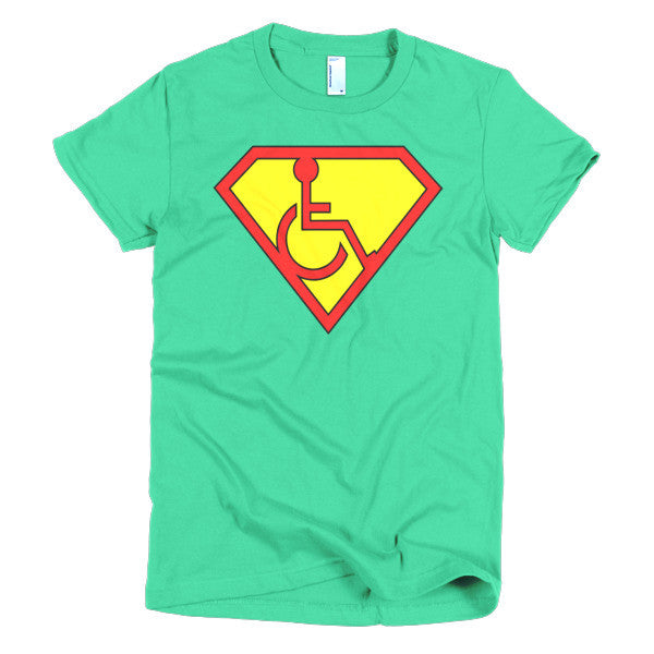Women's Adaptive Superman Symbol T-Shirt (XL-2XL)