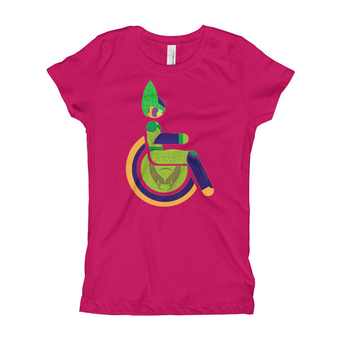 Girl's Youth Adaptive Semi-Perfect Cell T-Shirt (XS-XL)