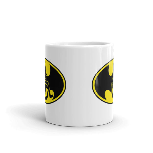11oz Adaptive Batman Symbol Mug