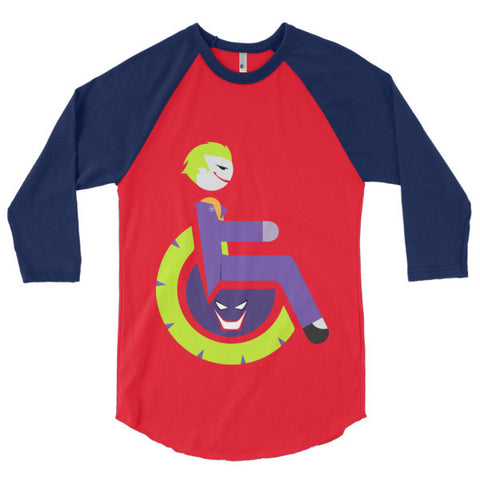Men's Adaptive Joker 3/4 Sleeve Raglan Shirt