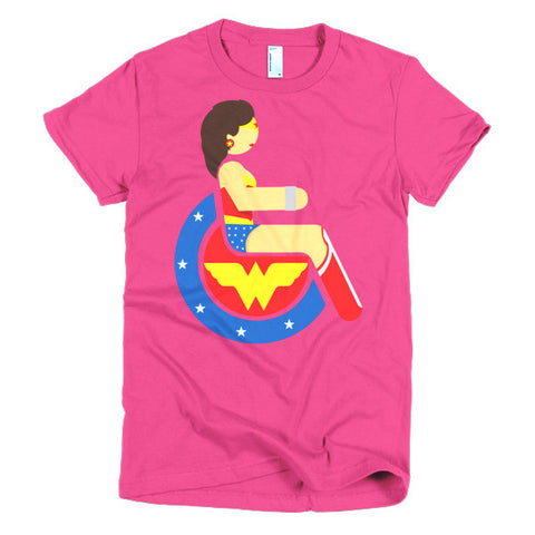 Women's Adaptive Wonder Woman T-Shirt (XL-2XL)