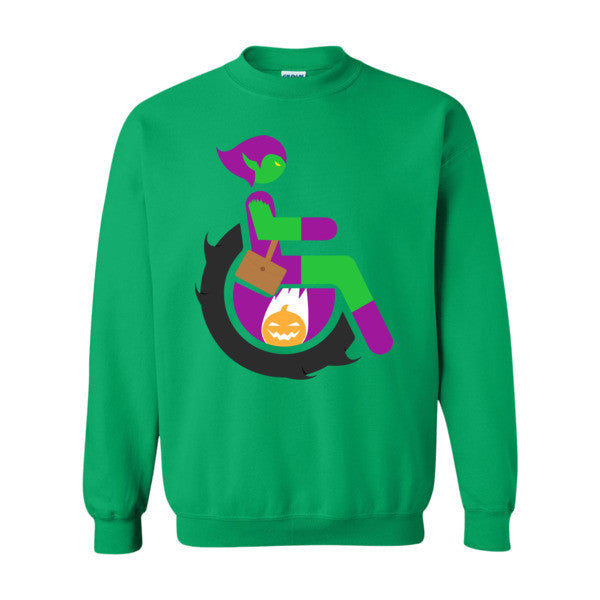 Men's Adaptive Green Goblin Crewneck Sweatshirt