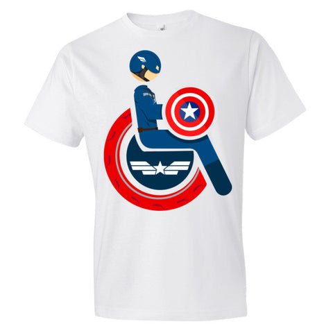 Men's Adaptive Captain America Lightweight T-Shirt