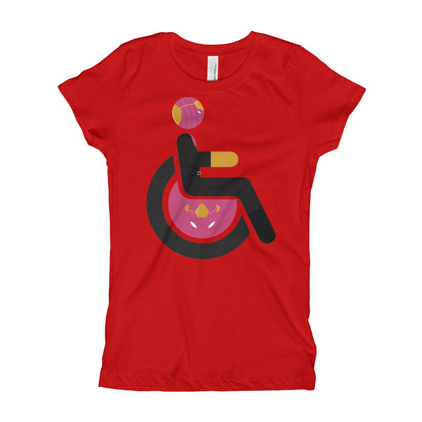 Girl's Youth Adaptive Baron Zemo T-Shirt (XS-XL)