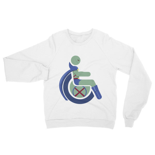 Adaptive Martian Manhunter Raglan Sweater