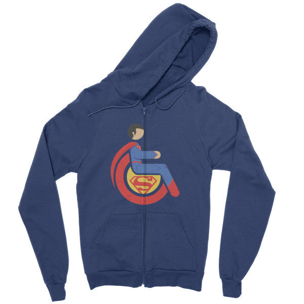 Men's Adaptive Superman Zip Hoodie