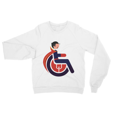 Adaptive Doctor Strange Raglan Sweater
