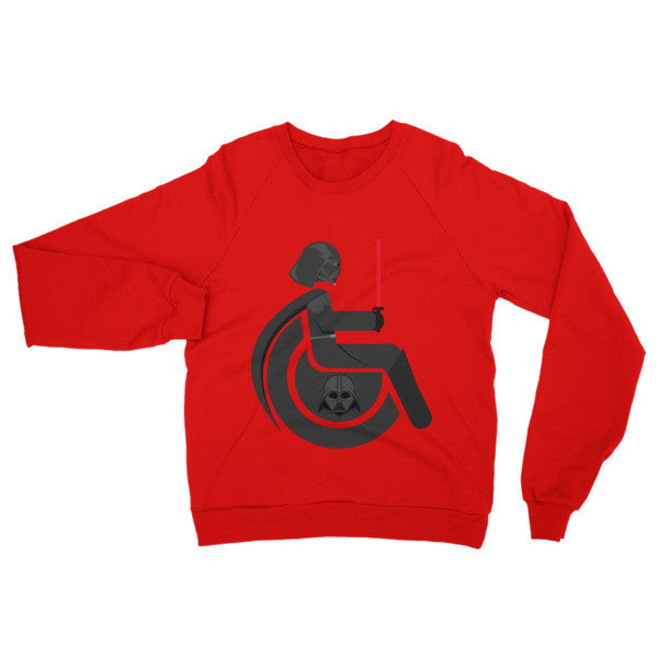 Adaptive Darth Vader Raglan Sweater