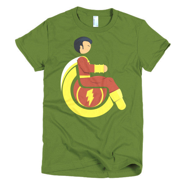 Women's Adaptive Mr. Marvel (Shazam) T-Shirt (XL-2XL)