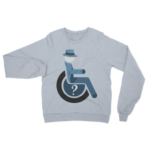 Adaptive Question Raglan Sweater