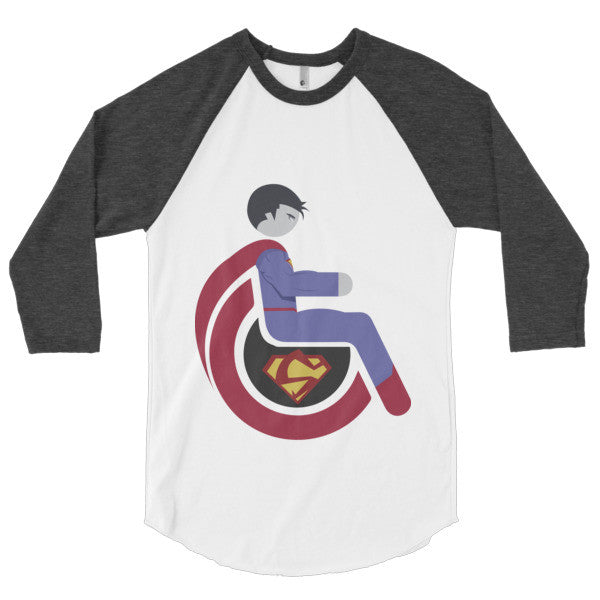 Men's Adaptive Bizarro 3/4 Sleeve Raglan Shirt