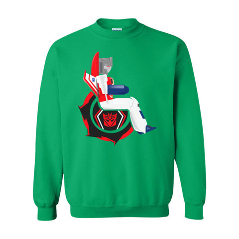 Men's Adaptive Starscream Crewneck Sweatshirt