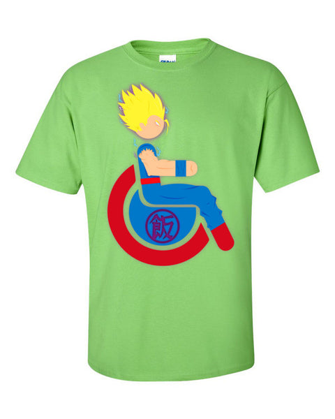 Men's Adaptive Super Saiyan 1 Gohan T-Shirt