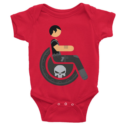 Adaptive Punisher Baby Onesie