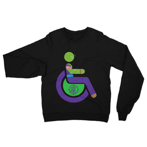 Adaptive Piccolo Raglan Sweater
