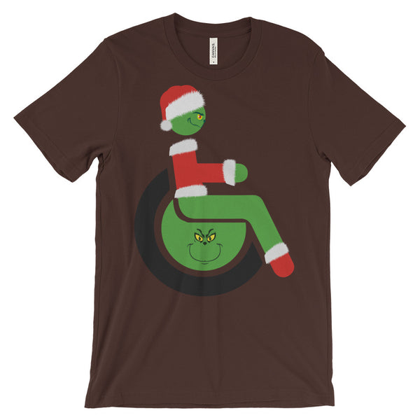 Adaptive Grinch Short Sleeve T-Shirt