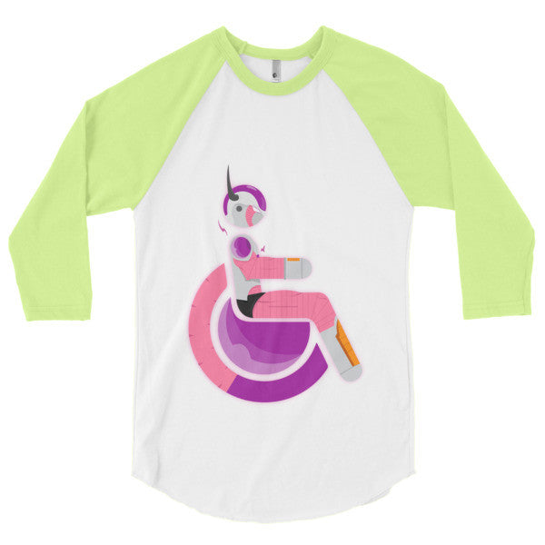 Men's Adaptive Second Form Frieza 3/4 Sleeve Raglan Shirt