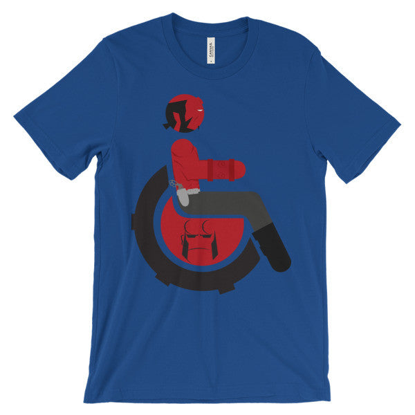 Adaptive Hellboy Short Sleeve T-Shirt
