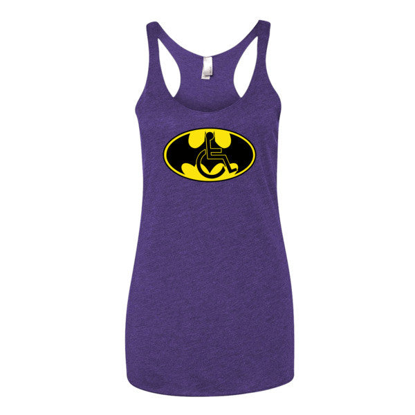 Women's Adaptive Batman Symbol Tank Top (XL)