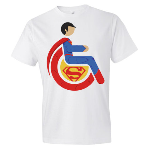Men's Adaptive Superman Lightweight T-Shirt