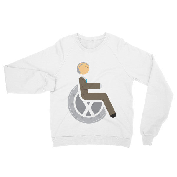 Adaptive Professor X Raglan Sweater