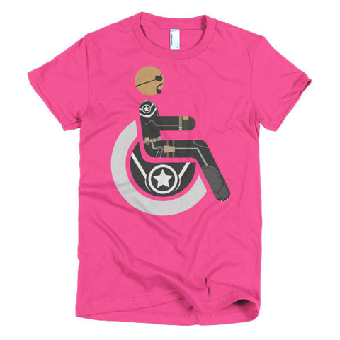 Women's Adaptive Nick Fury T-Shirt (XL-2XL)