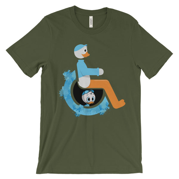 Adaptive Dewey Short Sleeve T-Shirt