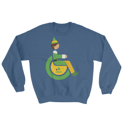 Men's Adaptive Elf Crewneck Sweatshirt