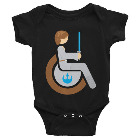 Adaptive Luke Skywalker Baby Onesie