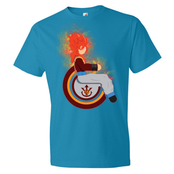 Men's Adaptive Super Saiyan 4 Gogeta Lightweight T-Shirt