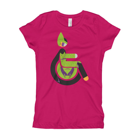 Girl's Youth Adaptive Perfect Cell T-Shirt (XS-XL)