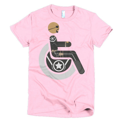 Women's Adaptive Nick Fury T-Shirt (S-L)