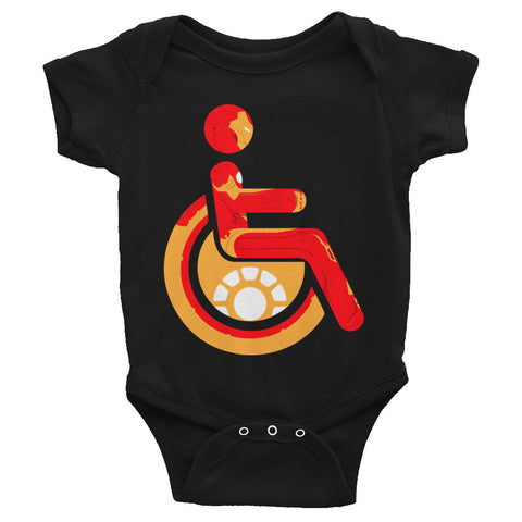 Adaptive Iron Man Baby Onesie