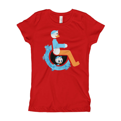 Girl's Youth Adaptive Dewey T-Shirt (XS-XL)