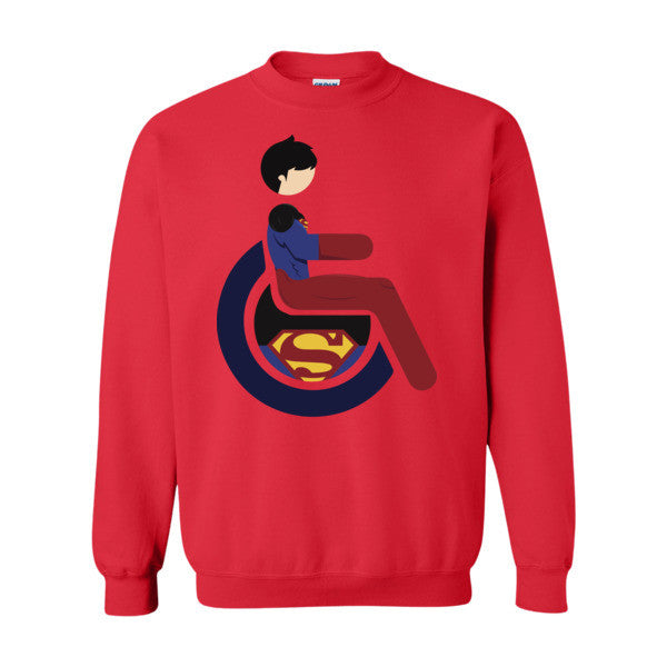Men's Adaptive Superboy Crewneck Sweatshirt