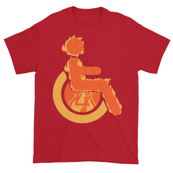 Men's Adaptive Human Torch T-Shirt (3XL-5XL)