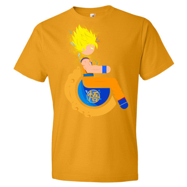 Men's Adaptive Super Saiyan 2 Goku Lightweight T-Shirt
