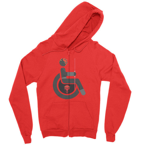 Men's Adaptive Darth Maul Zip Hoodie