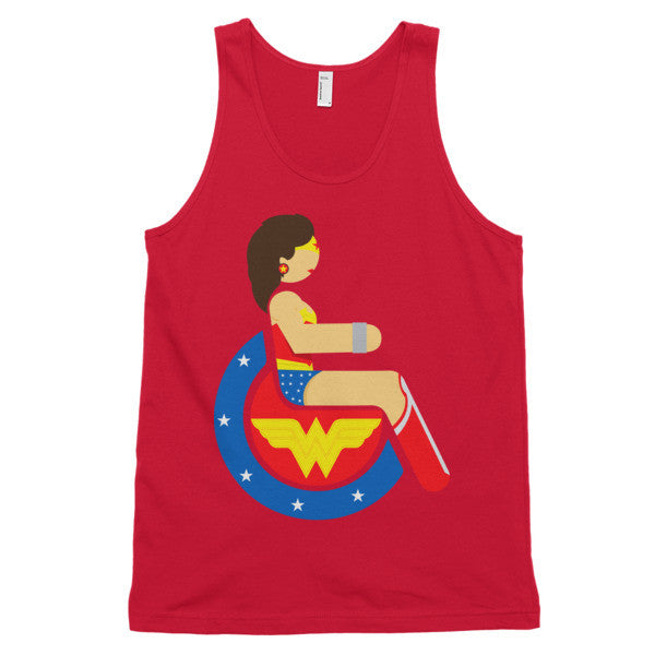 Adaptive Wonder Woman Classic Tank Top