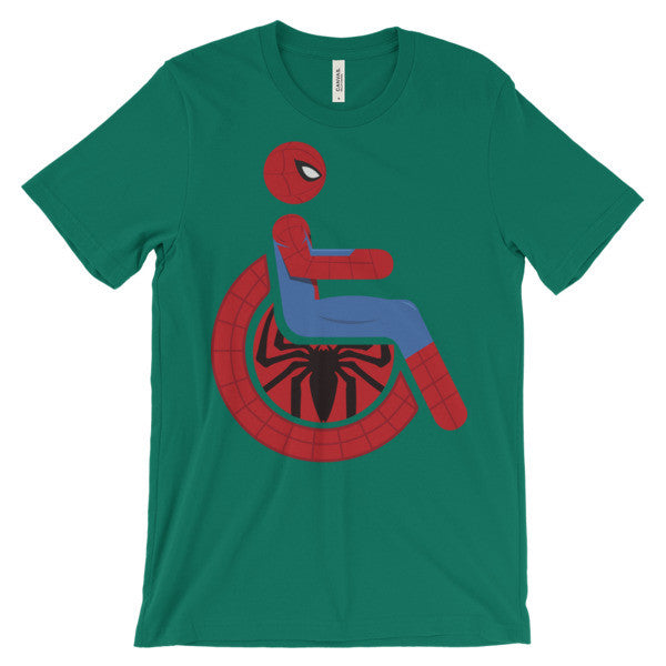 Adaptive Spider-Man Short Sleeve T-Shirt