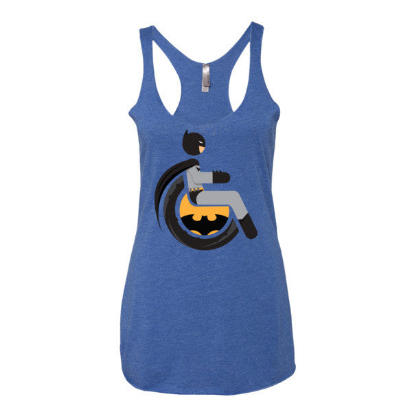 Women's Adaptive Batman Tank Top (XS-L)