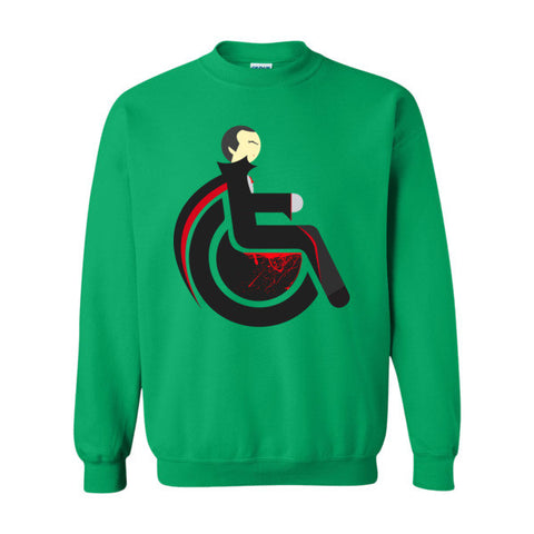 Men's Adaptive Dracula Crewneck Sweatshirt