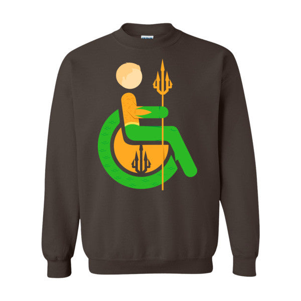 Men's Adaptive Aquaman Crewneck Sweatshirt