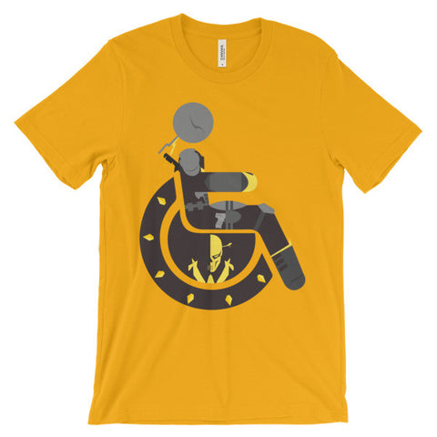Adaptive Deathstroke Short Sleeve T-Shirt